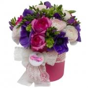 Коллекция цветов в коробках